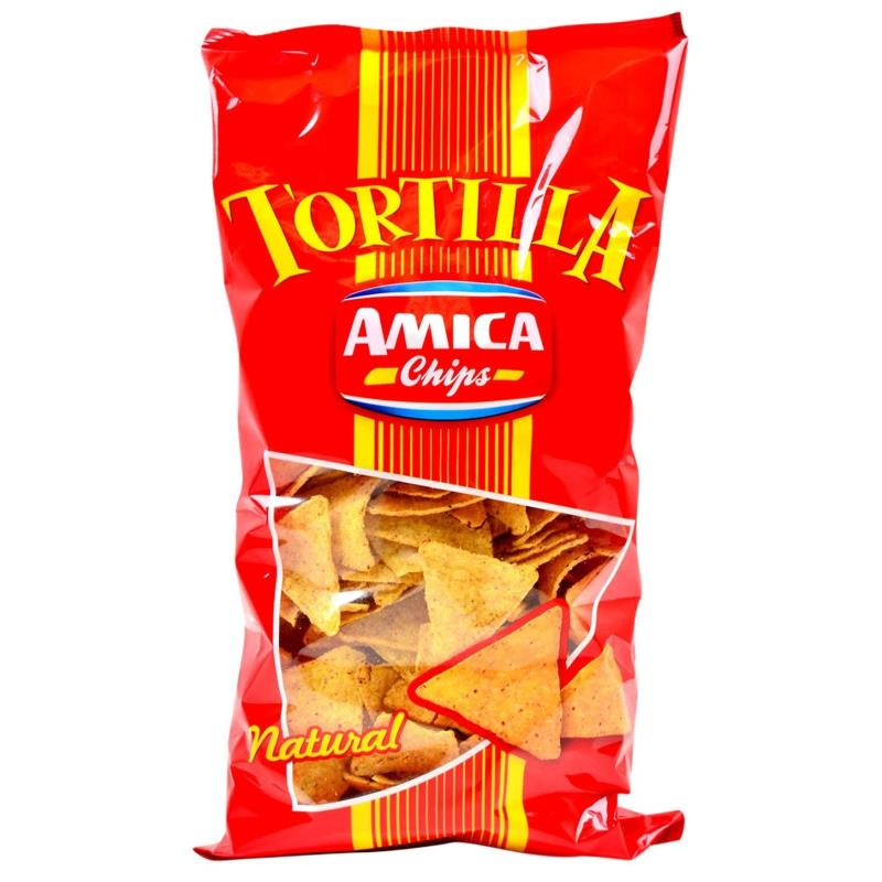 Am.chips Tortilla Natural Maxi Gr.450