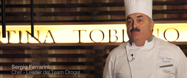 Sergio Ferrarini - Chef Leader del Team Orogel